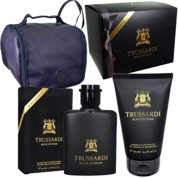 Set Trussardi Black Extreme