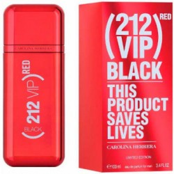Carolina Herrera 212 Vip Black Red
