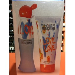 Set Moschino I Love Love