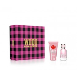 SET Dsquared 2 Wood Pour Femme edt 30ml + crema de corp 50ml